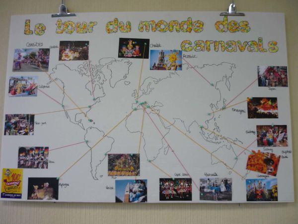 Un clin d'œil au carnaval de Cholet par les 3èmes PEP